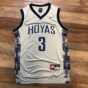 Allen Iverson Georgetown Hoyas NCAA College Jersey